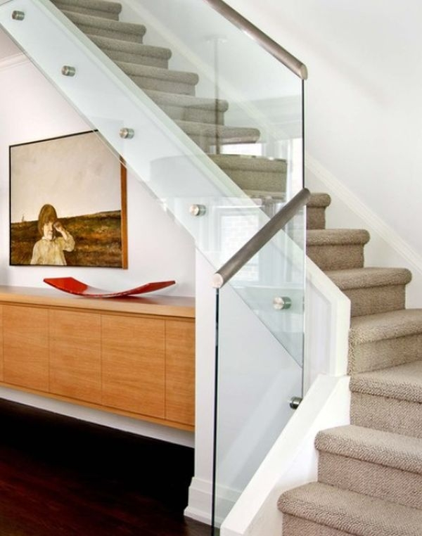 Modern Handrail Designs That Make The Staircase Stand Out   Stair Railing Design Modern   White   Model Modern Staircase   Marble   Exterior Irregular Stair   Balcony