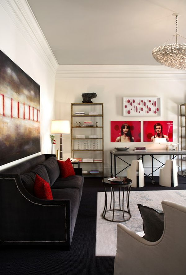 Decorating With Red Amp Grey Ideas Amp Inspiration