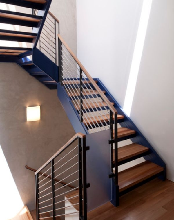 Modern Handrail Designs That Make The Staircase Stand Out | Modern Staircases And Railings | Wire | Contemporary | Wood | Futuristic | Elegant