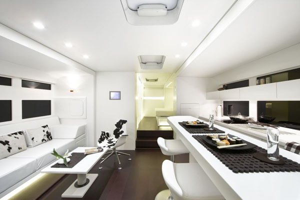 Mobile Home Living Rooms