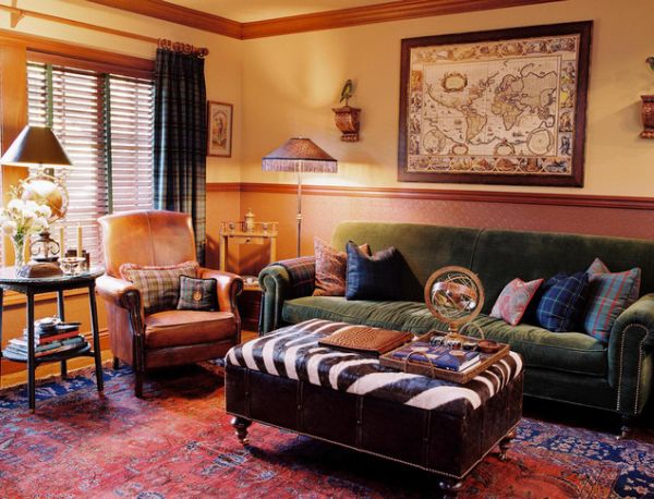How To Make Tartan Work In A Living Room