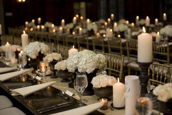 Modern Wedding Centerpiece With Calla Lilies In An Ice Sculpture