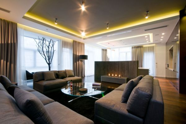 15 Stylish Interior Designs For Large Living Rooms