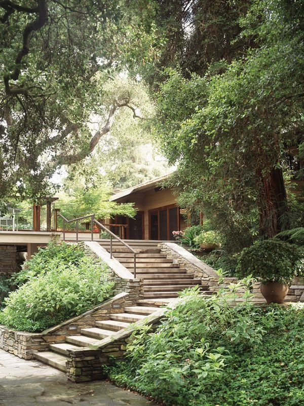 How To Design Exterior Stairs on Backyard Stairs Design id=41574