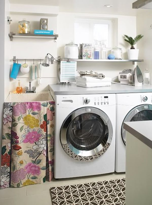 42 Laundry Room Design Ideas To Inspire You on Laundry Decor Ideas  id=45259