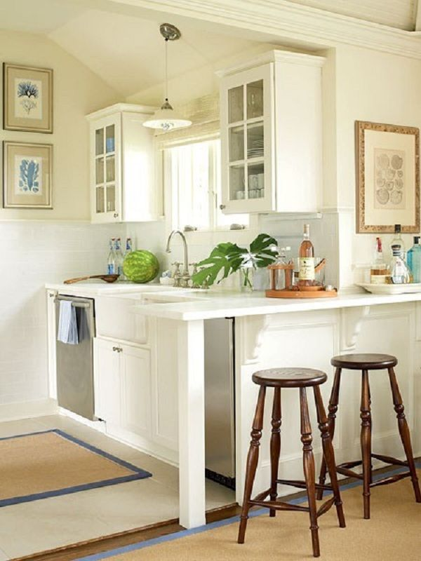 27 Space-Saving Design Ideas For Small Kitchens on Best Small Kitchens  id=26613