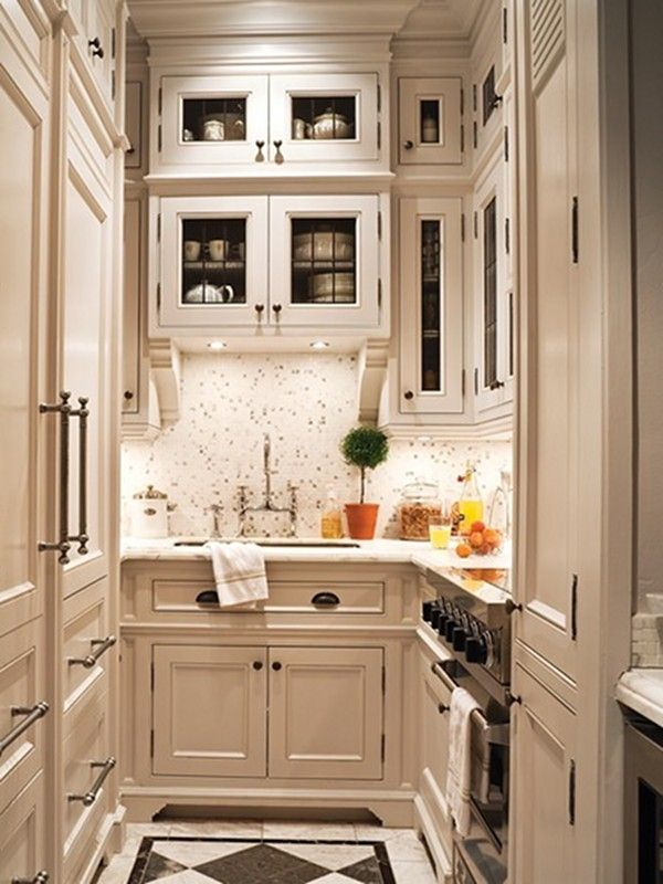 27 Space-Saving Design Ideas For Small Kitchens on Tiny Kitchen Remodel Ideas  id=94543