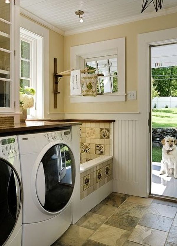 42 Laundry Room Design Ideas To Inspire You on Laundry Room Decor  id=64625