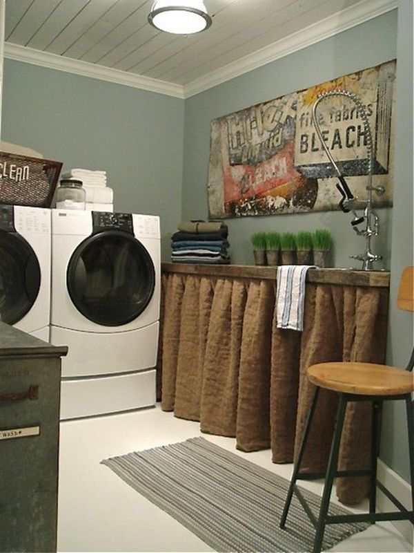 42 Laundry Room Design Ideas To Inspire You on Laundry Decorating Ideas  id=94710