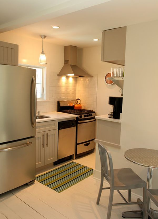 27 Space-Saving Design Ideas For Small Kitchens on Small Space Small Kitchen Ideas  id=52551