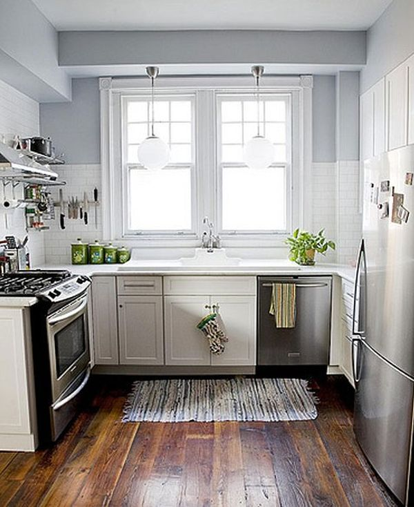 27 Space-Saving Design Ideas For Small Kitchens on Small Kitchen Renovation Ideas  id=12370