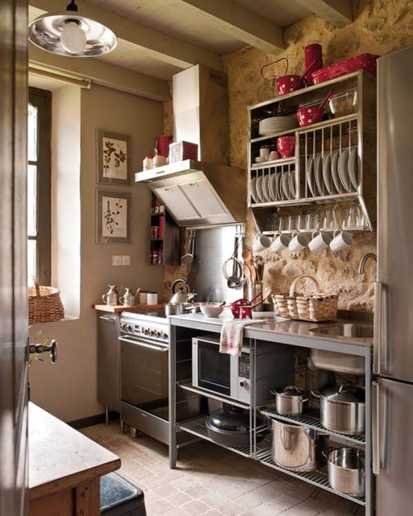 27 Space-Saving Design Ideas For Small Kitchens on Small Space Small Kitchen Ideas  id=48561