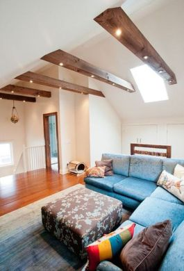Living Rooms With Beams That Will Inspire Lighting Beams