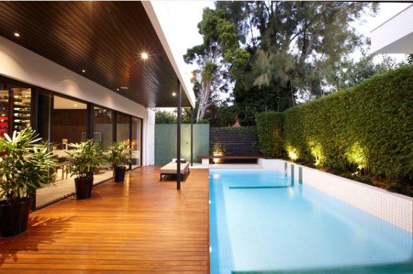 20 Backyard Pool Design Ideas For A Hot Summer on Modern Backyard Ideas With Pool id=43981