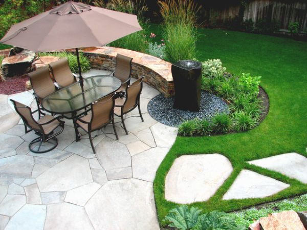 Five Makeover Ideas For Your Patio Area on Modern Backyard Water Feature id=37678