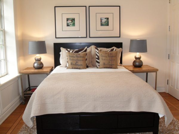 How To Design A Room Around A Black Bed