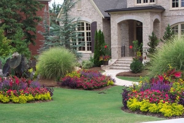 40 Front Yard Landscaping Ideas For A Good Impression on Beautiful Backyard Landscaping  id=76955