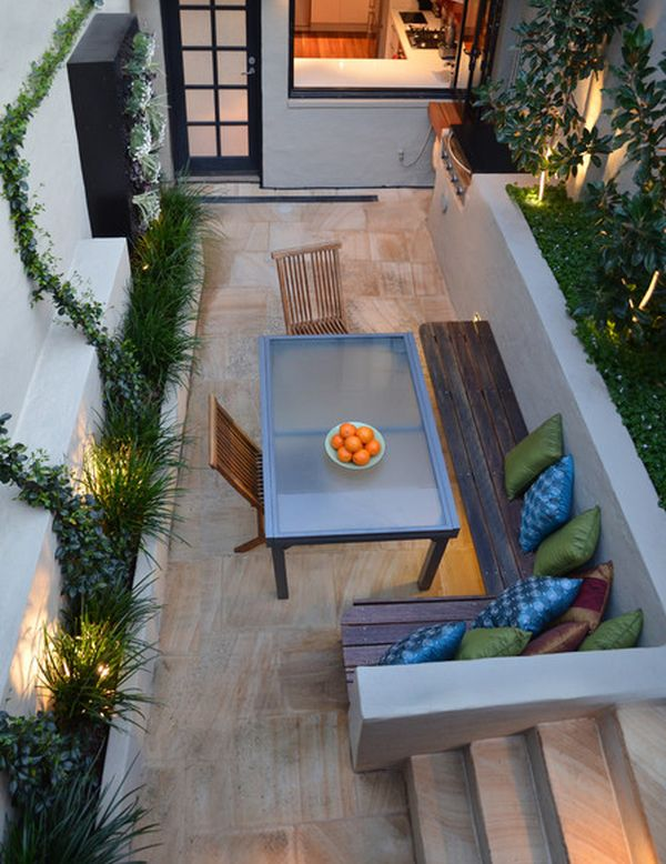 10 Inspiring Design Ideas For Tiny Backyards on Narrow Backyard Landscaping Ideas  id=50318