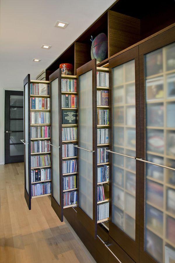 Merveilleux Unique Stylish DVD Storage Ideas