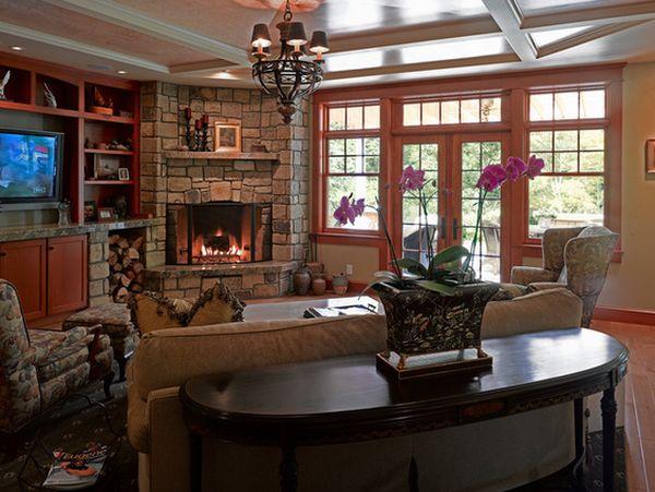title | Corner Fireplace Ideas