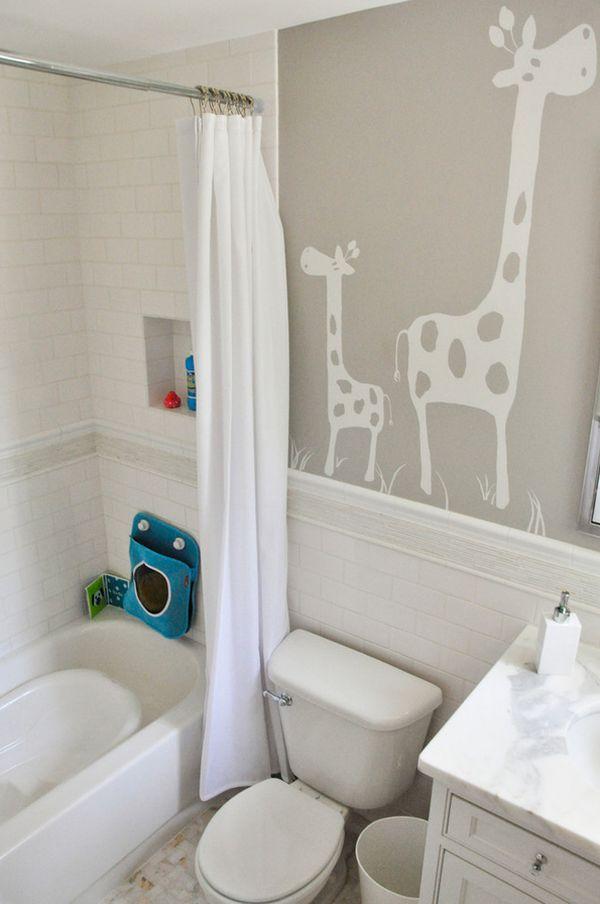 30 Playful And Colorful Kids' Bathroom Design Ideas on Fun Bathroom Ideas  id=85623