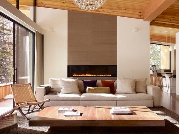 modern fireplace design ideas 100 Fireplace Design Ideas For A Warm Home During Winter