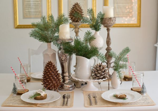 Festive And Beautiful Christmas Tablescapes: Ideas And