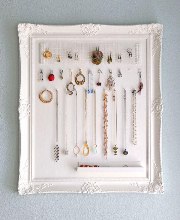 Stylish Decoration Wall Hanging Jewelry Organizer Innovation Design The Advantage Of Mount