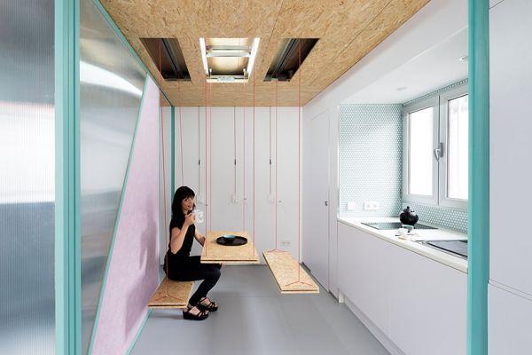 Moving Walls Amp Secret Furniture The Delightfully Flexible