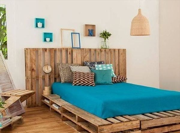 Hanging Beds, Dreams Beds, Pallets Beds, Wooden Pallets ... on Pallet Bedroom  id=21045