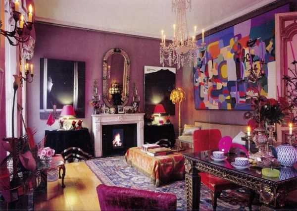 Dipped In Plum Monochromatic Rooms