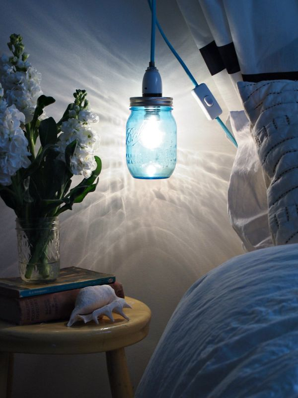 Mason Jar Pendant Lighting