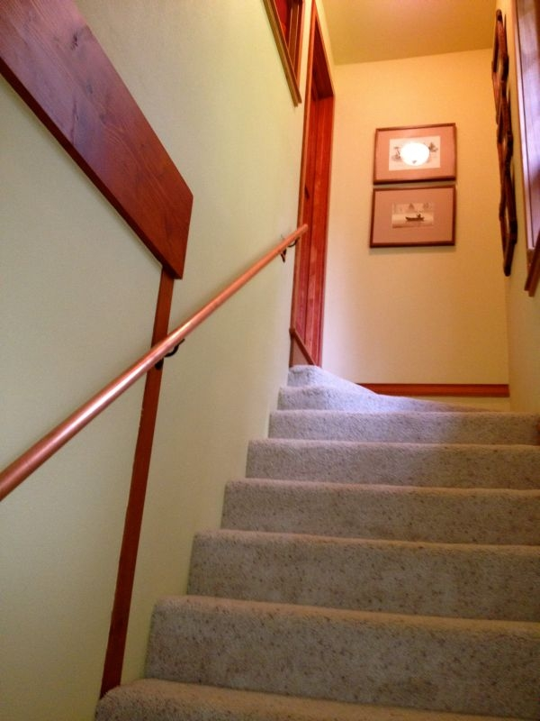 17 Ingenious Staircase Railing Ideas To Spruce Up Your House Design | Handrail For Stairs Indoor | Short Staircase | Victorian | Width Hand | Wall | Glass Panel Stainless Steel Handrail