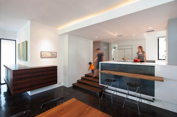 Split Level Home Designs For A Clear Distinction Between