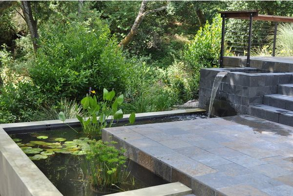 11 Falling Water Features Guaranteed To Give Your House A ... on Small Backyard Water Features id=64135