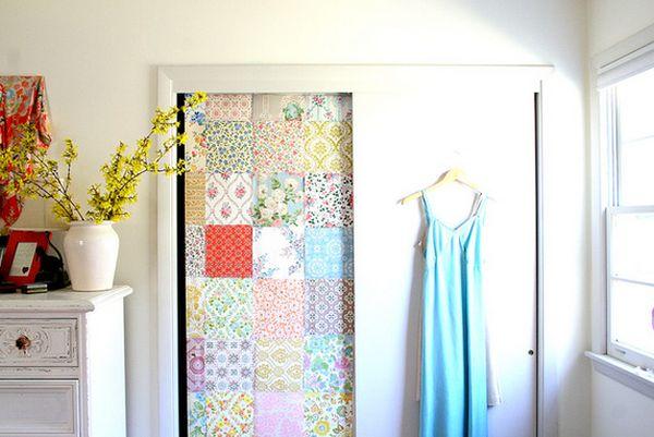 Using Curtains Instead Of Wardrobe Doors Integralbookcom - Closet door designs can completely change decor