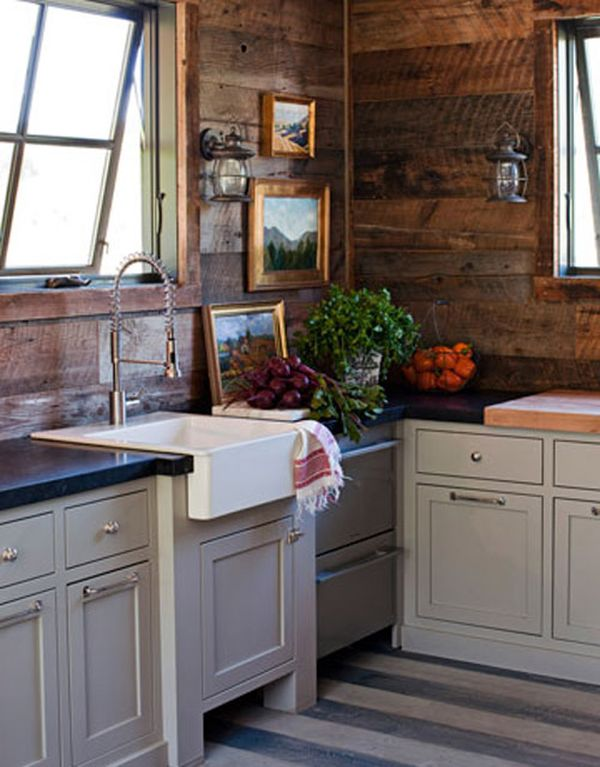 A Guide to Identifying Your Home Décor Style on Rustic Farmhouse Kitchen  id=58941