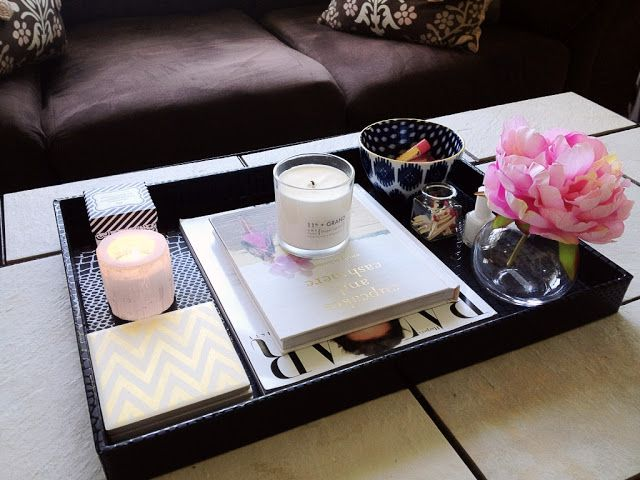 How To Style Coffee Table Trays: Ideas & Inspiration on Coffee Table Inspiration  id=83037