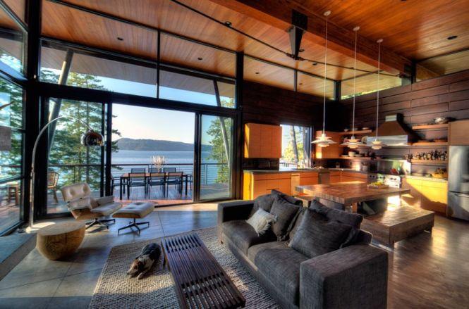 Lake Home Decorating Ideas Exterior Rustic With Rabun Seed Burton