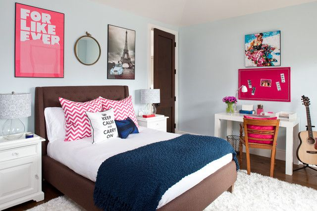 25 Tips for Decorating a Teenager's Bedroom on Beautiful Teenage Bedrooms  id=92409