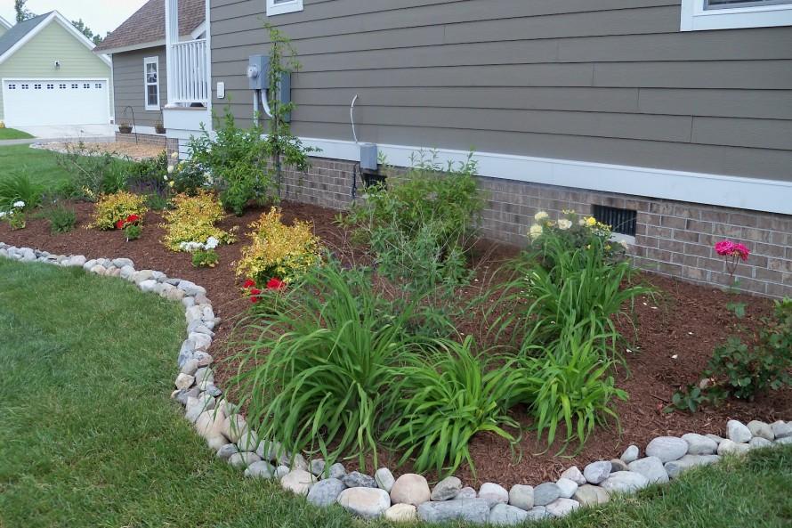 20 Rock Garden Ideas That Will Put Your Backyard On The Map on Rocks In Backyard  id=45975