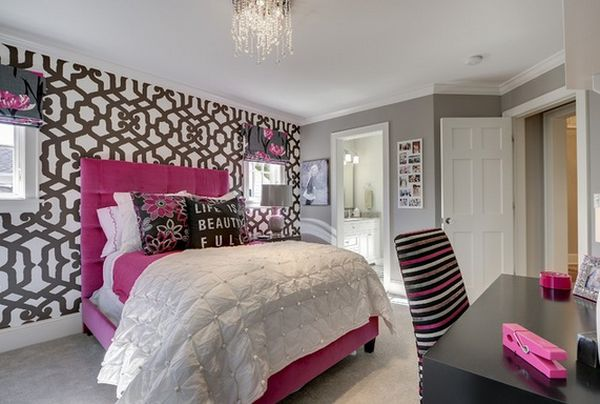 Fresh And Youthful - 10 Gorgeous Teen Girls' Bedroom ... on Teen Rooms Girl  id=72990