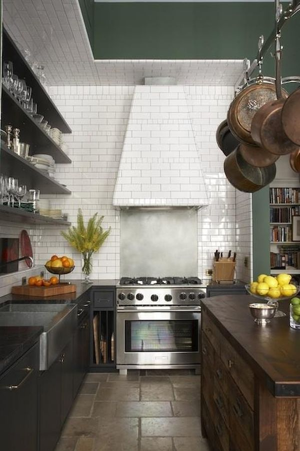 Ceiling Floor Tile Kitchen Subway