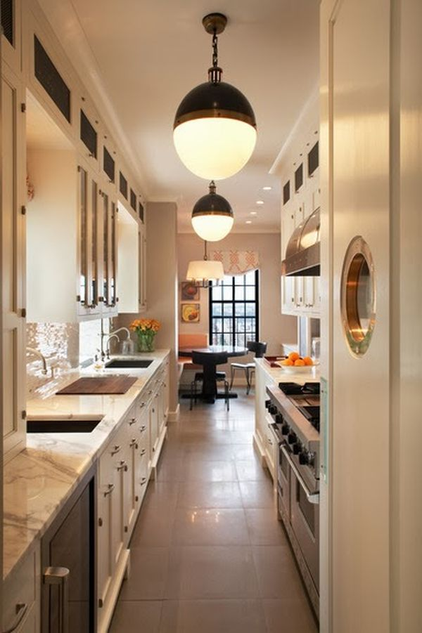 Hallway Kitchen Design Ideas