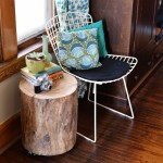 Tree Stump Table Diy Side Or Coffee Table Decor