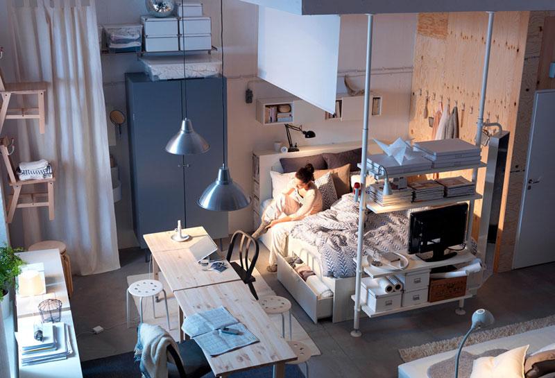 Inspiration 26 Ikea Small Space Ideas