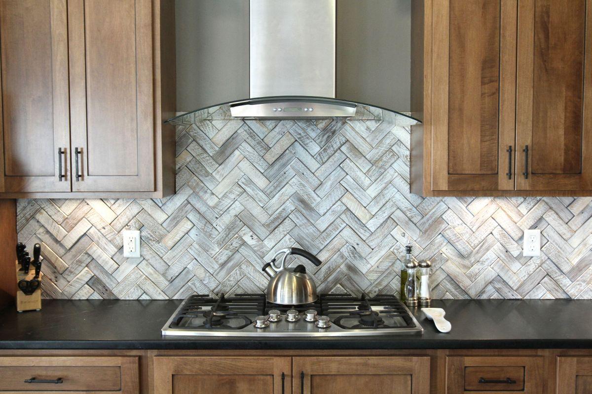 timeless herringbone pattern in home decor