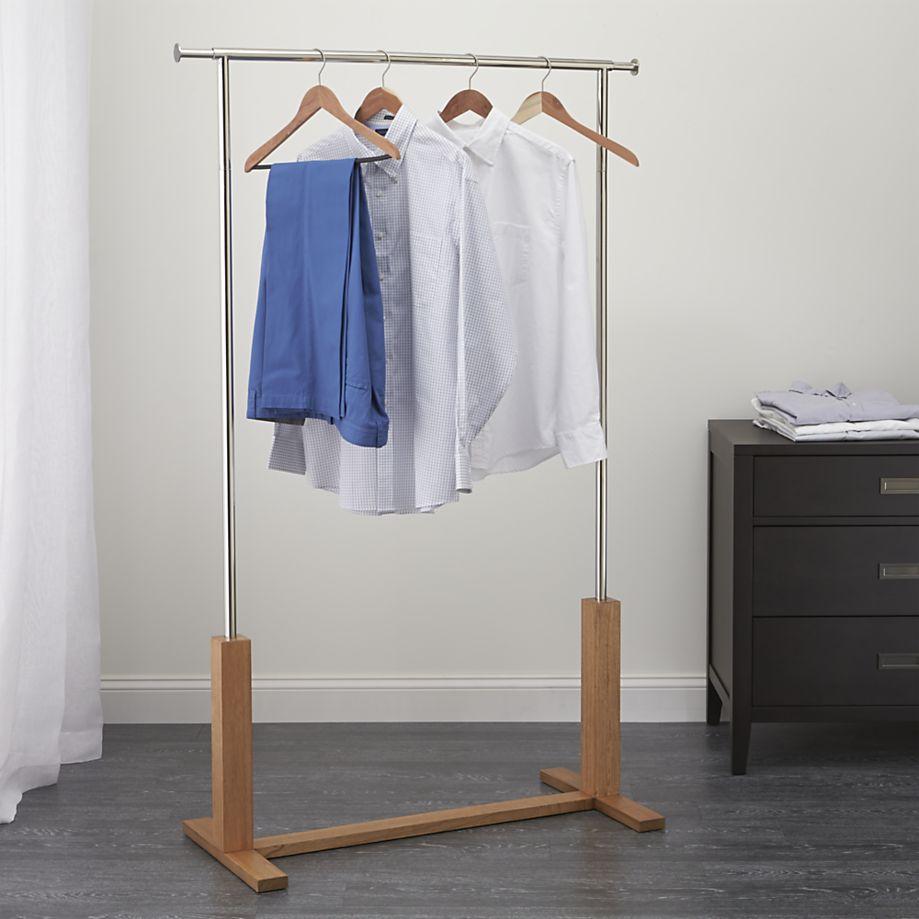 freestanding clothing racks