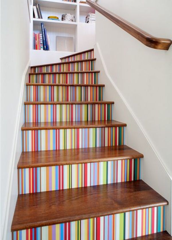 Perfect 31 Brilliant Stairs Decals Ideas Inspiration. Creative Stair Risers For Your  House Of Joy Great Ideas