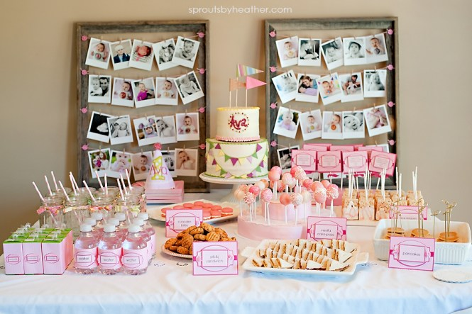 1st Birthday Party Ideas For Decorating Of Happy Ketotrimfo